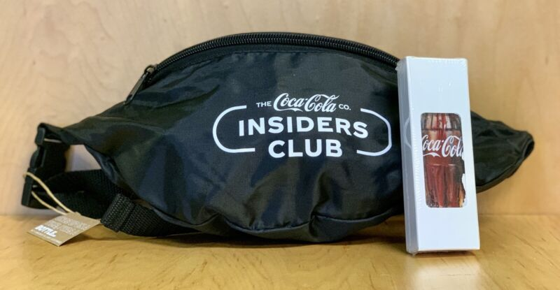 Coca Cola Coke Feb Insiders Club 2021 Playing Cards Deck And Fanny Pack NEW