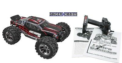 RedCat Racing 1/8 Earthquake 3.5 4WD RC Monster Truck Nitro RTR, Red RER05937 HH 1/8 Rtr Rc Nitro Truck