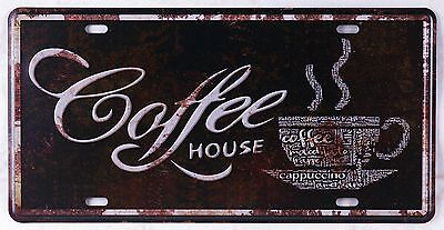 - Coffee House Artistic Metal Tin Sign Retro Poster Pub Cafe Shop Wall Door Plaque