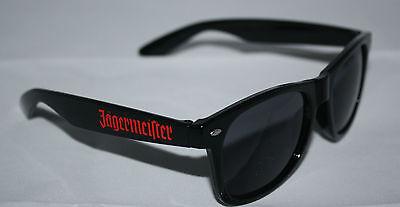 Jägermeister Kräuterlikör Nerd-Sonnenbrille  NEU OVP getönt schwarz Sommer