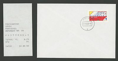 NIEDERLANDE NL ATM AUTOMATENMARKE FDC 1989 m1119