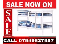 XMAS SALE==== WOODEN BUNK BED FRAME WITH MATTRESSES