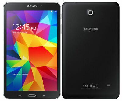 "Samsung Galaxy Tab 4 Verizon + GSM Unlocked SM-T337V Black 16GB  8"" Tablet A+"