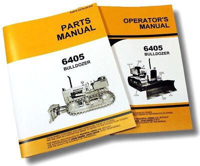 Operators Parts Manual Set For John Deere 450 Crawler Dozer 6405 Bulldozer