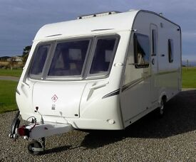 Abbey Vogue 470 Caravan 2007 - Many Extras Included - Garaged - Excellent Condition
