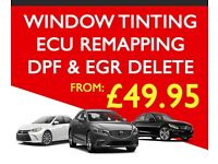 ** OPEN TILL LATE ** CAR WINDOW TINTING \ ECU REMAPPING \ DPF & EGR DELETE!