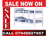 Alivna- Beautifully Designed Wooden Bunk Bed Can Be Converted into Two Beds