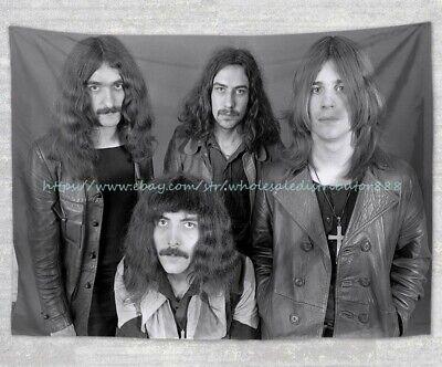modern bedspread wall art Black Sabbath tapestry cloth poster