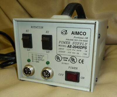 Aimco Ae-2045dps 115v 70w Dual Speed Electric Screwdriver Power Supply