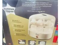 Brand new tommee tippee electric steam steriliser