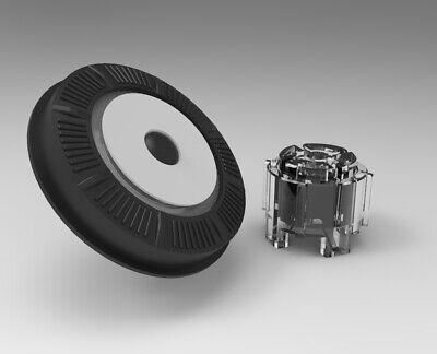 NEW! Raymarine E90w E120w E140w Rotary Dial UniController Key Grey w/ actuators