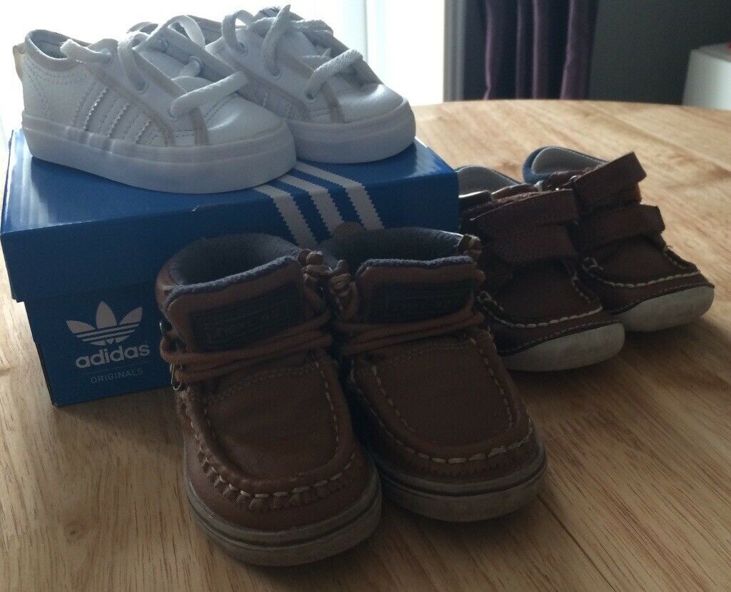 5c485711511 1 images Baby boys size 3 trainers and shoes. 3 items. None smoking ...