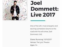JOEL DOMMETT LIVE SHOW