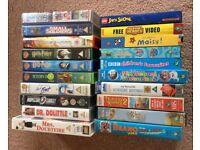 20 Children's/ Family VHS Videos