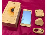 iPhone 6S on O2 - 64Gb rose gold - Superb condition