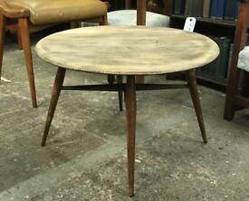 Ercol drop leaf coffee table