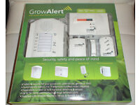 GROW ALERT Alarm System Base Station and Auto Dialer. Grow Room Security..NEW