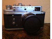 Russian 'Leica' Zorki 4 with Jupiter 8 Lens