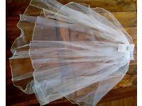Wedding veil (ivory)