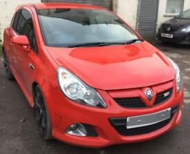 Vauxhall Corsa D VXR 2008 Flame red 1.6 Turbo breaking for spares.