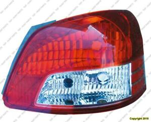 Tail Light Passenger Side Sedan High Quality Toyota Yaris 2007-2011