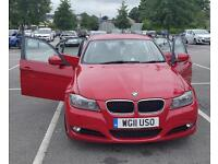 BMW 3 series SALOON RED (2008-2012)