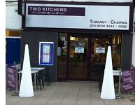 KITCHEN PORTER FOR LOUGHTON RESTAURANT
