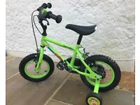 Children's Bike with stabilisers