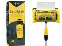 Roloson brush Ideal for cleaning cars, caravans, conservatories and more. Auto tech power washer