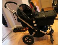 Bugaboo Cameleon Limited edition - Denim Navy with footmuff and else (new set of fabric included)