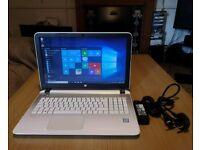 "White HP Pavilion 15 - Intel Core i5-5200U, 8GB, 2TB, HD Graphics, 15.6"" Laptop"