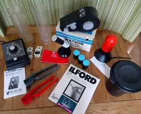 Darkroom Equipment Bundle. Excellent Condition