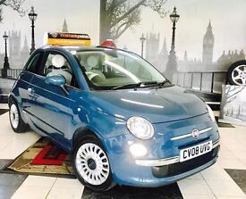 ★🎈THE KWIKI SALE🎈★ 2008 FIAT 500 1.3 M/JET LOUNGE DIESEL★FULL SERVICE HIST★£20 TAX★KWIKI AUTOS