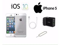 Genuine iPhone 5 16gb silver unlocked or EE/BT