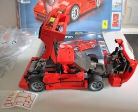Vintage Lego and Ferrari F40 all boxed complete