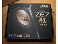 Asus Z97 pro motherboard