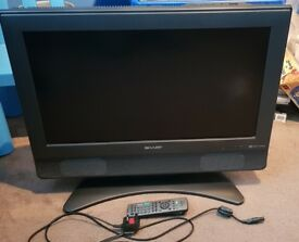 "Sharp 26"" HD tv * hdmi & freeview *"