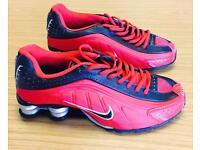 Nike Air Shox red and black UK 8.5