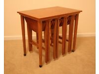 Vintage Retro Nest of Tables - Mid-century Danish / Poul Hundevad inspired - Teak - 1960s - Gorgeous