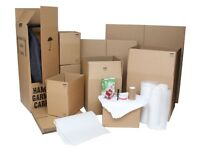 NEW Packing Removal Storage Boxes & Wardrobes Bubble Wrap & Tape Local Collection UNUSED