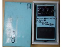Boss CE5 Chorus pedal (Pink Label)