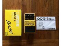 Boss Bass Over Drive ODB-3 effects pedal