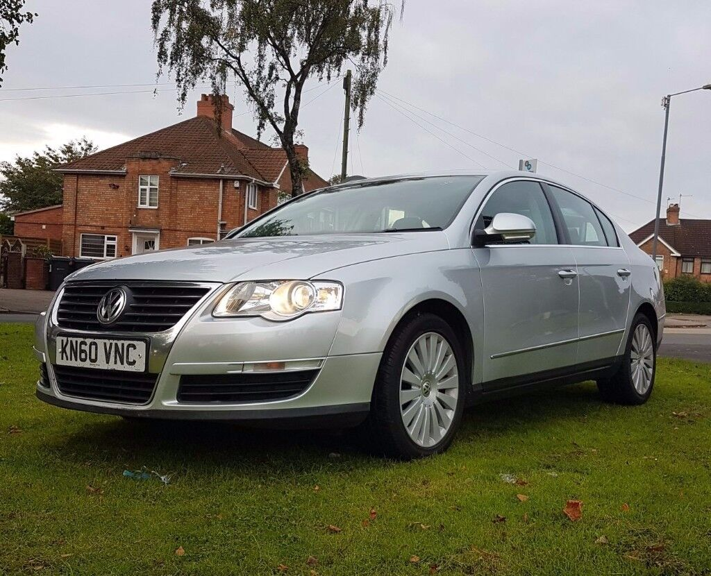 2010 VW PASSAT HIGHLINE PLUS CAR 2.0 TDI CR 1 OWNER FSH LEATHERS NAV HEATED LEATHER SPORTS DIESEL