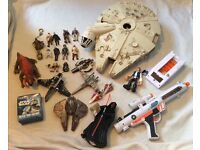 Star Wars figures and ships 80s and 2000s