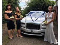 ROLLS ROYCE CONVERTIBLE Chauffeured Wedding hire