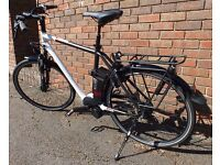 Kalkhoff Gents Large electric bike 3 years old good condition