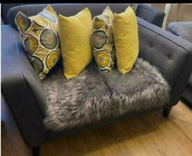 Dfs french connection cuddler sofa