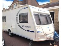 2010 bailey pageant provence, 5 berth family caravan one owner from new open to sensible offers