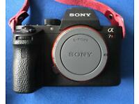 Sony A7RII Full Frame Mirrorless Camera 42.2Mpix FE