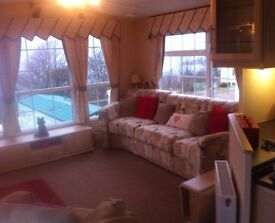 luxury 6 berth caravan at Parkdean Wemyss Bay for HIRE